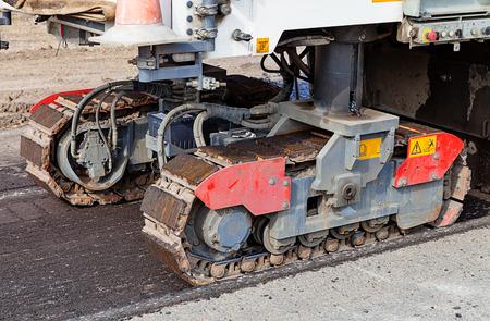 machinery machine: machinery parts of Road machine for cutting asphalt