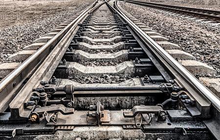 railway points: Railway