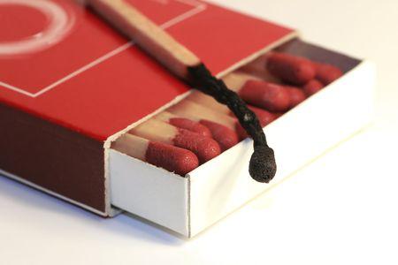 Box of matches photo