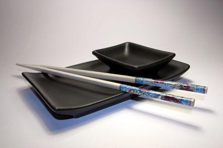 Asia & food: Japanese sushi set I photo