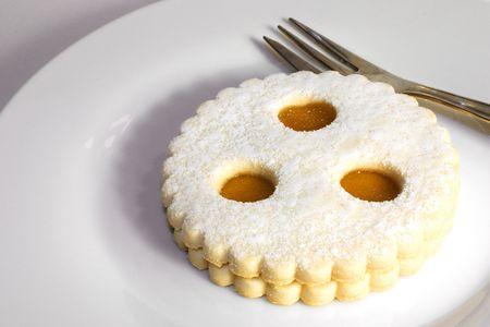 Linzer Auge - Austrian dessert photo