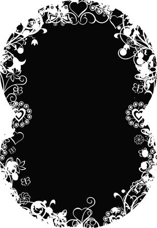 andamp: Grunge valentine background Stock Photo