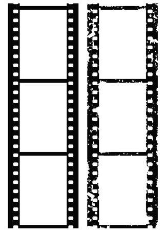 35: Grunge frontera foto, pel�cula de 35 mm