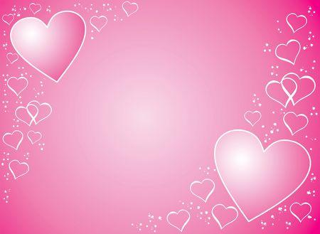 Valentine background, illustration Reklamní fotografie