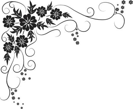 fancy border: Elemento de dise�o, ilustraci�n vectorial