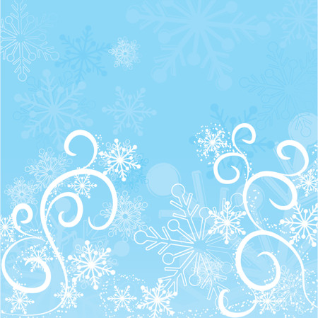 Winter background, vector illustration Stock Vector - 646200