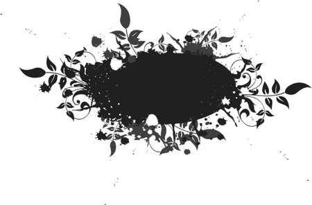 Grunge element for design, vector illustration