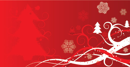 Christmas winter background, vector illustration Vector