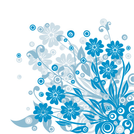 Floral background, vector illustration Stock Vector - 725589