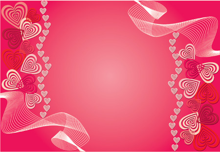 Valentine background, vector illustration Stock Vector - 725628
