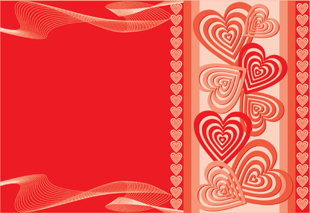 lovestruck: Valentine background, vector illustration Illustration