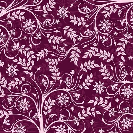 Floral pattern, vector illustration