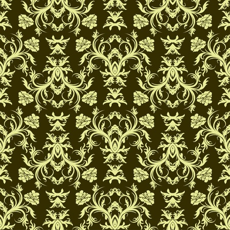 Seamless floral pattern, vector illustration Vector