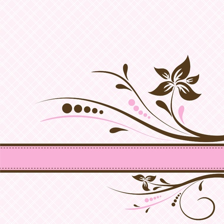 Template greeting card Stock Vector - 9876686