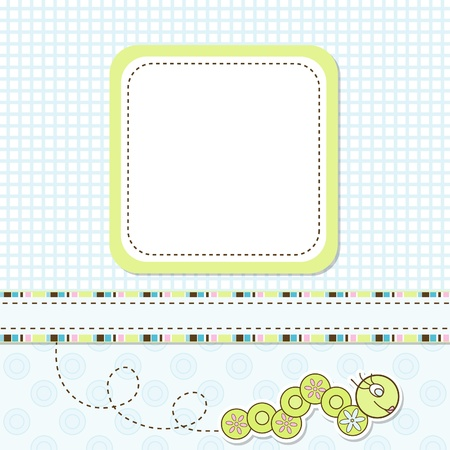 Template greeting card Stock Vector - 9876833