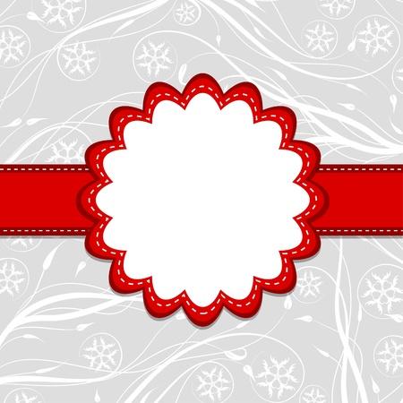 border frame: Template greeting card Illustration