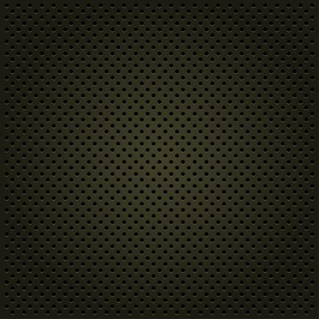 oxidized: Template metallic background, vector illustration Illustration