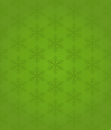 Seamless snowflakes pattern, vector illustration Stock Vector - 10733340
