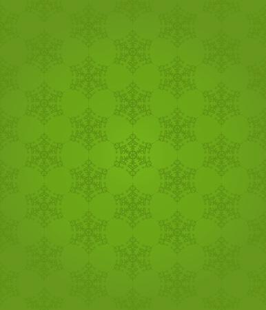 Seamless snowflakes pattern, vector illustration Stock Vector - 10733340