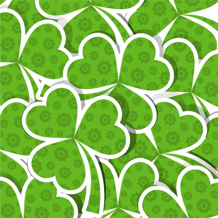 Template St. Patricks day pattern, vector illustration Vector