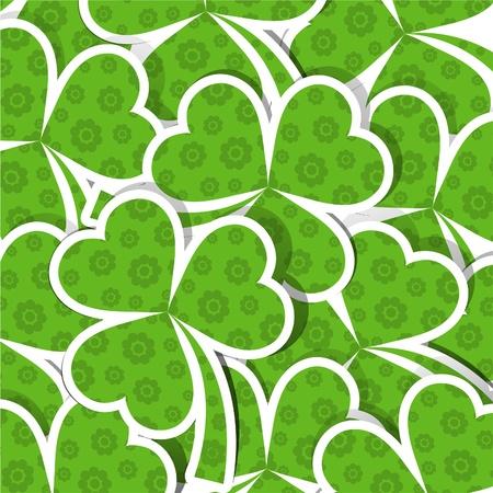 Template St. Patricks day pattern, vector illustration Vector