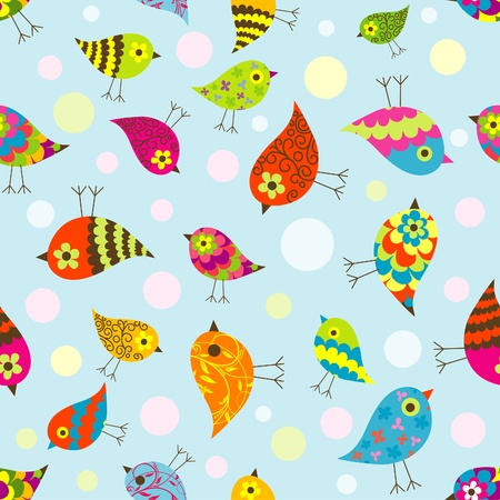 Template seamless pattern, illustration