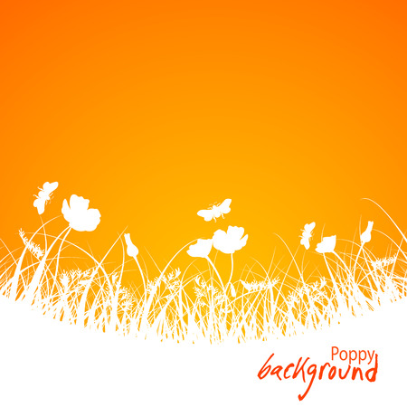 bstract: Аbstract floral background, vector illustration