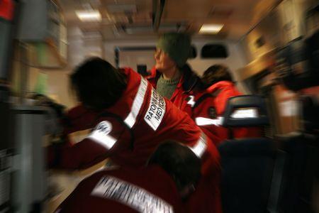 paramedics: Medical Team in move