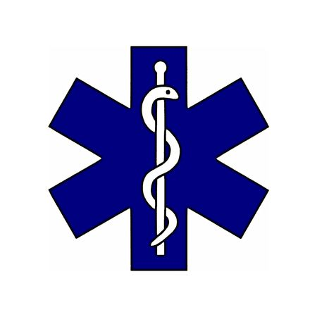 med: Illustration of the medical symbol