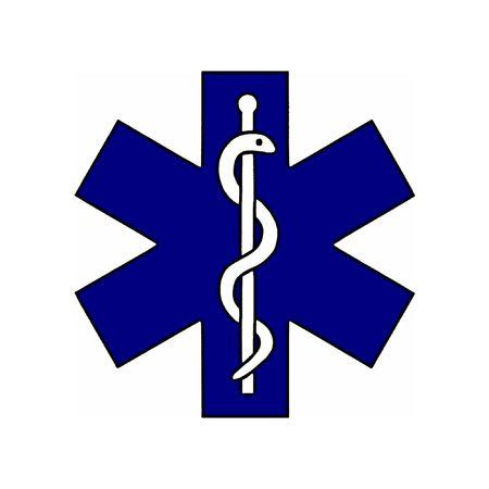 Illustration of the medical symbol Stock Illustration - 862668