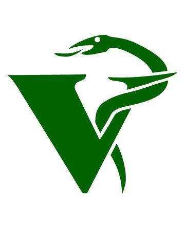 medical logo: Illustration of the veterinary symbol