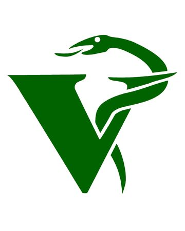 veterinary care: Illustration of the veterinary symbol