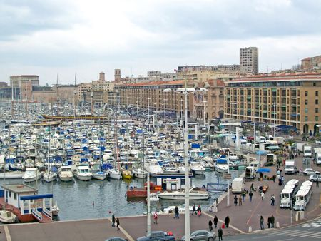 An image from the french city of Marseille