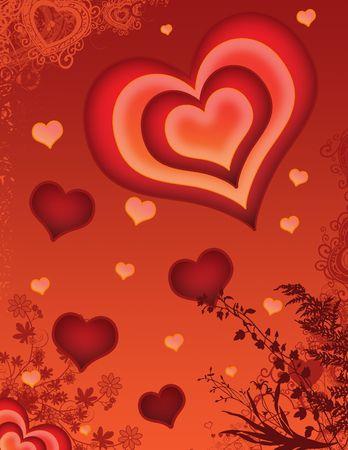 saint valentines: Valentines santo giorno carta o immagine di sfondo