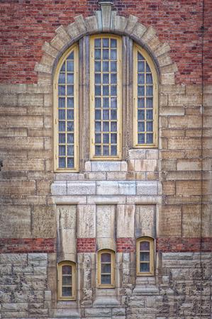 johannes: The windows of Sankt Johannes Kyrka in the Swedish city of Malmo.