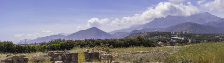 acres: Situated at the area Katovigli in Makrygialos, this 3 acres villa is one of the greatest archaeological finds in Eastern Crete.