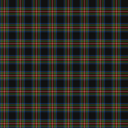 christmas plaid: A seamless patterned tile of the clan Lyle tartan. Stock Photo