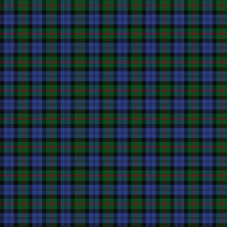 clan: A seamless patterned tile of the clan Baird tartan.