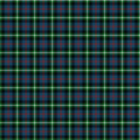 clan: A seamless patterned tile of the clan Bannatyne tartan. Stock Photo