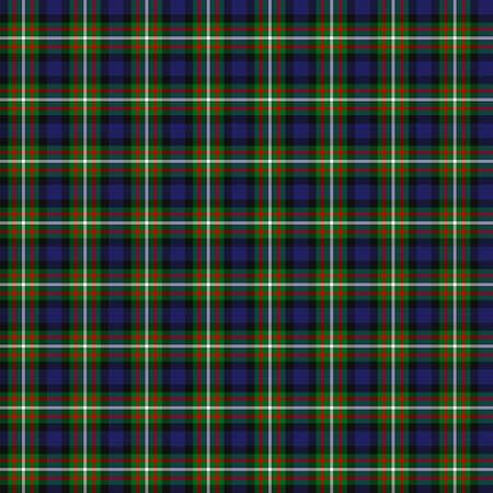 clan: A seamless patterned tile of the clan Ferguson tartan.