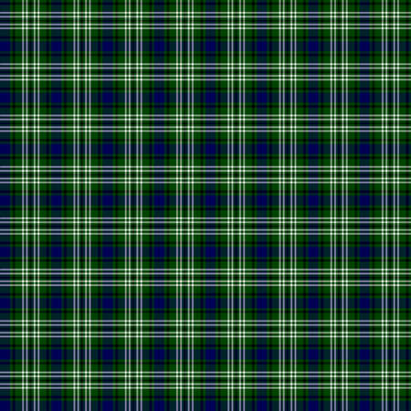 clan: A seamless patterned tile of the clan Blackadder tartan.