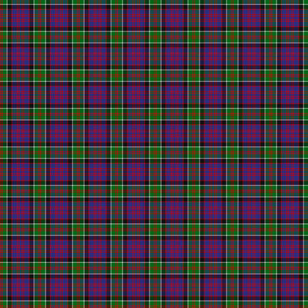 A seamless patterned tile of the clan MacDonald of Clanranald tartan. Stock Photo