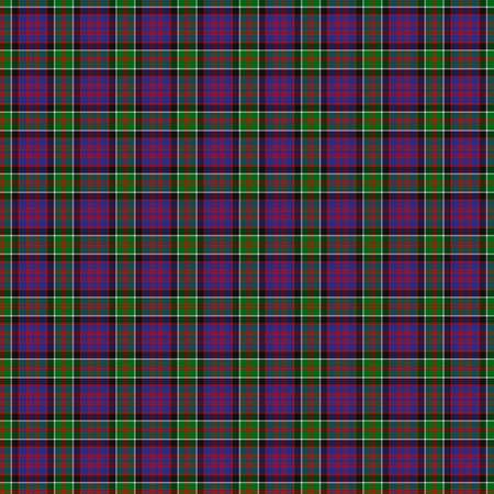 macdonald: A seamless patterned tile of the clan MacDonald of Clanranald tartan. Stock Photo