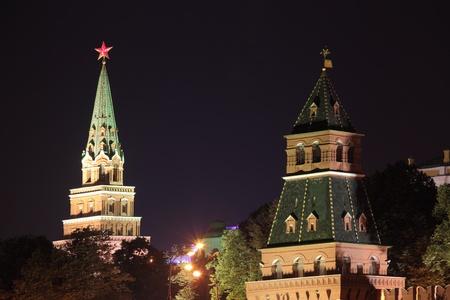 Moscow Kremlin series  Night view  Stock Photo - 15111152