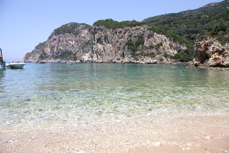 Skeloudi bay, Paleokastritsa, Corfu island, Greece Stock Photo - 15111157