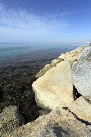 Rocks at Southern Cyprus, Greek Cyprus, South Eastern Europe, Europe Stock Photo - 17093786