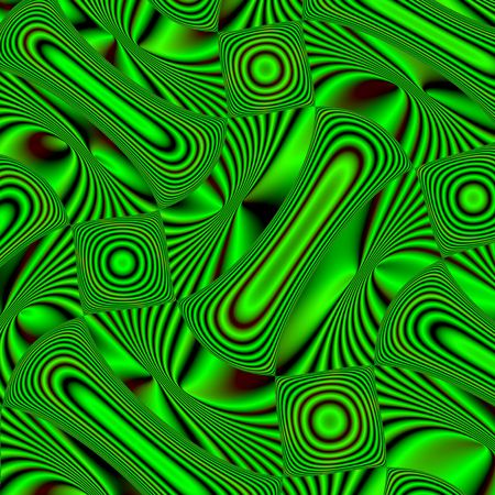 Confusion of red and green. Flat surface that rotates and pushes against air or water Stock Photo - 4382925