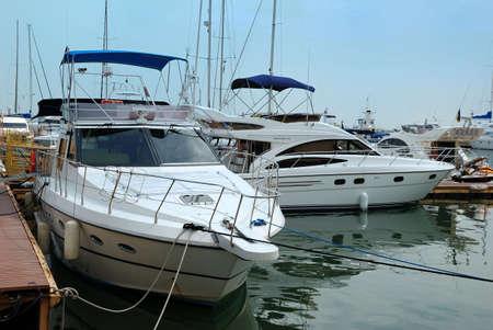 Sea boats photo