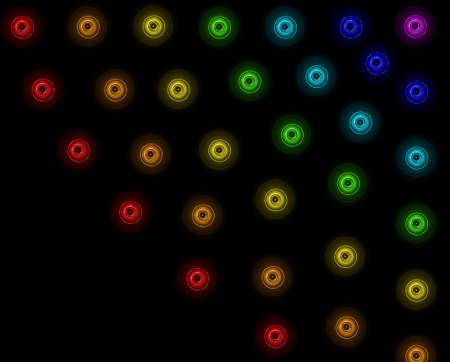 текстура: абстрактный неоновый фон
