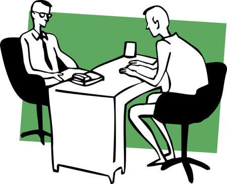 principal: business dialog